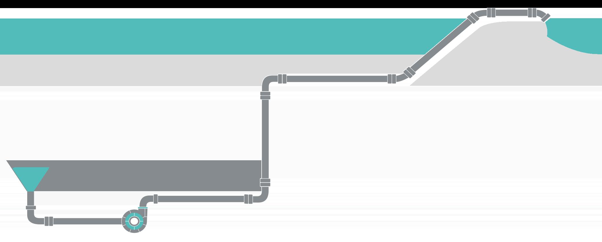 Rohrleitungsnetzwerke lassen sich in Flownex® schnell und effizient aufbauen und berechnen