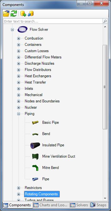 Flownex® Komponentenbibliothek