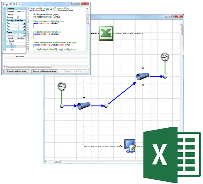 Flownex® Excel-Integration und Scripting