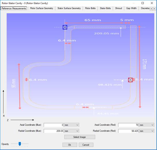 Cavity-Editor Referenz-Messpunkte